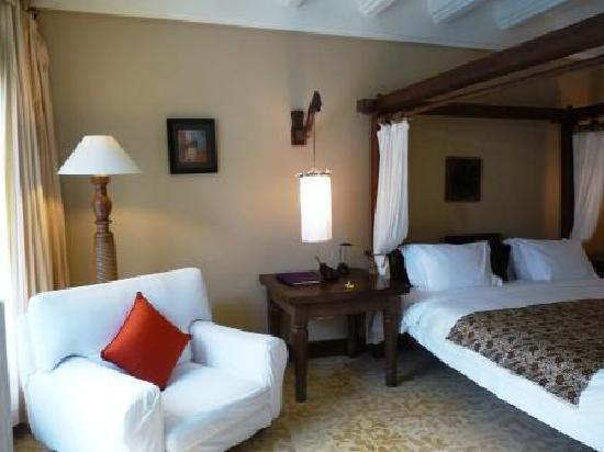 Hotel Tugu Bali : autre vue de la suite Dedari
