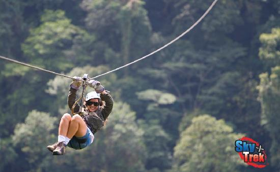 how to get to sky adventures in arenal