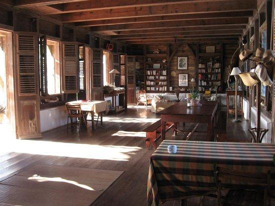 L'habitation de l'Ilet Thierry: le salon