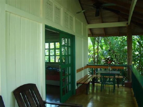Hotel Villas Gaia: porche