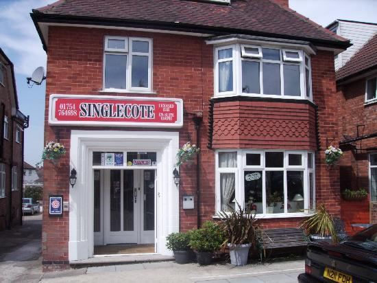 The Singlecote: the front of the property
