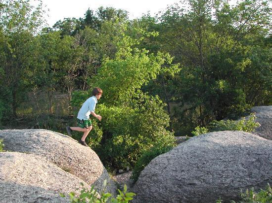 Glen Rose, TX: Rock Jumping