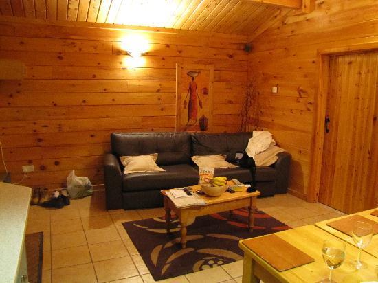 Quarry Walk Lodges: Lounge area