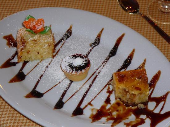 Aprica, Italy: assaggi di dessert