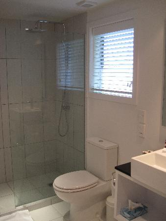 Regent of Rotorua: Bathroon / shower