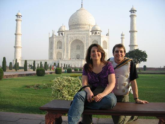 Нью-Дели, Индия: At the Taj Mahal...... pictures do not do it justice.