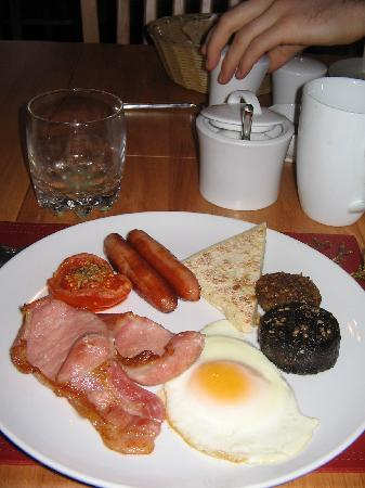 Rossroe Lodge B&B: a part of our breakfast
