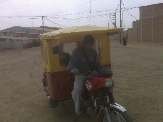 Transportation in Talara, Peru