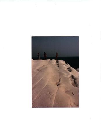 Porto Empedocle, Italien: SICILY: wind swept Scala dei turchi...