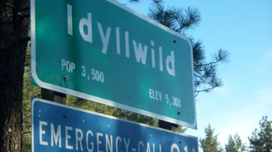 Idyllwild, Kalifornien: Oh yeah baby! I made it!