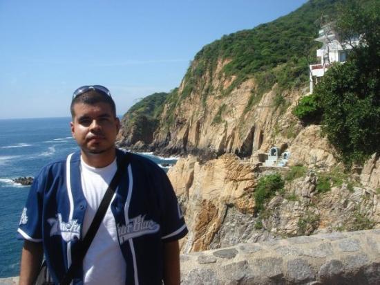The dudes that dive off these cliffs (La Quebrada) are Loco with a capitol L.