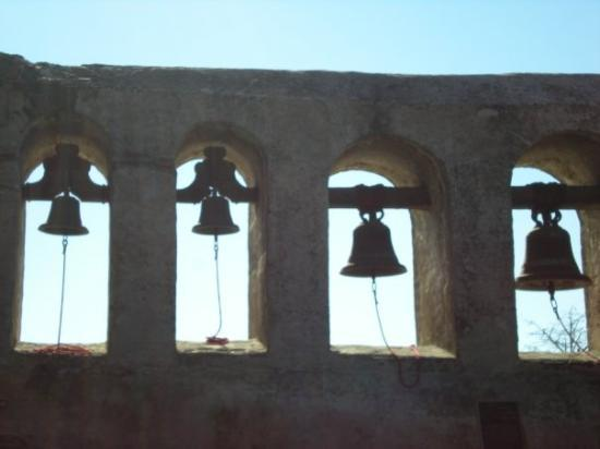 San Juan Capistrano, CA: the bells at the mission