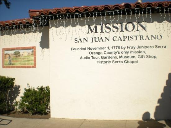 Bilde fra Mission San Juan Capistrano