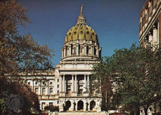 ‪‪Harrisburg‬, بنسيلفانيا: State Capitol Building