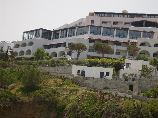 Peninsula Resort & Spa : hotel vu de la plage