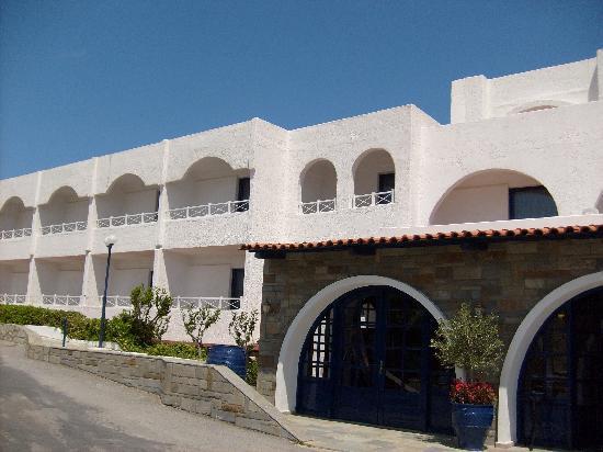 ذا بننسولا هوتل: entrée de l'hôtel