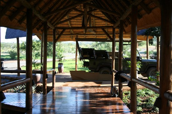 Shishangeni Private Lodge: ingresso