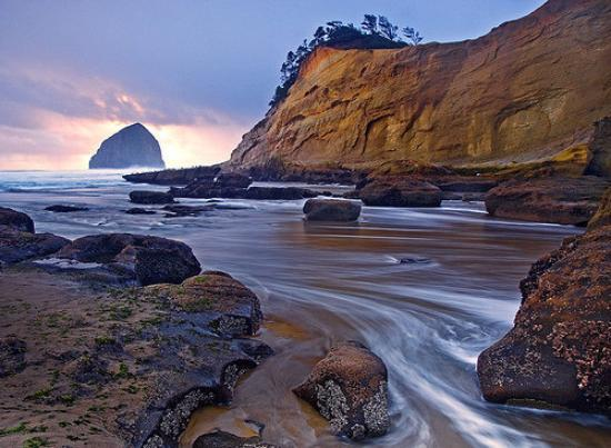 Tillamook, Oregón: Cape Kiwanda, Oregon