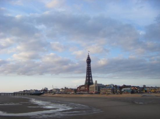 The Blackpool Tower: Blackpool tower