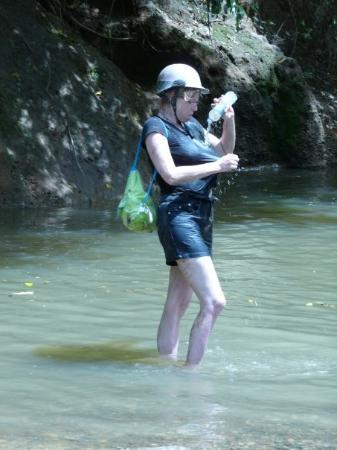 Xtreme-Buggy - Day Tours: River in Punta Cana during quad trip. Trying to clean off a little.