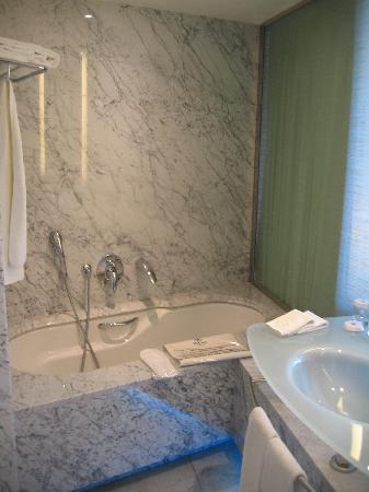Hilton Athens: Bathroom in my room