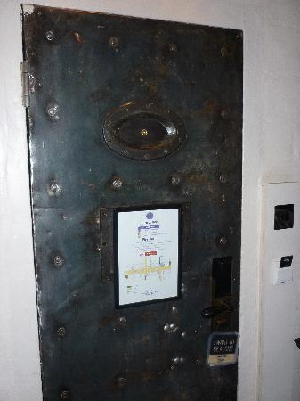 Malmaison Oxford Castle: Metal Door To The Cell With Peephole