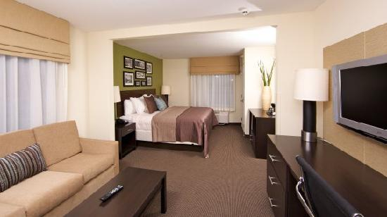 Holiday Inn Express & Suites Rogers: King Suite
