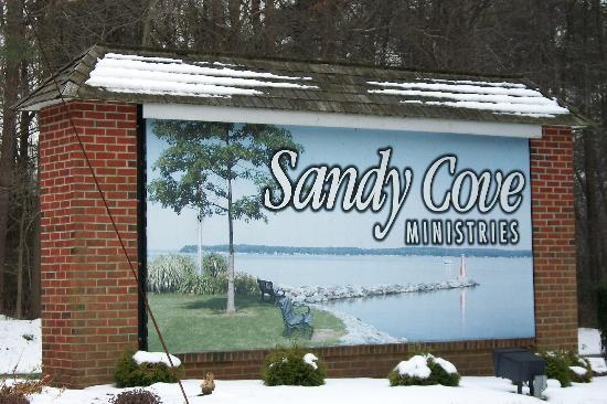 Sandy Cove Ministries: entrance from main road