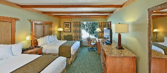 Grand Lodge at Brian Head : Resort Double Queen Guest Room