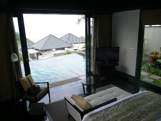 Banyan Tree Ungasan, Bali: Room with a view