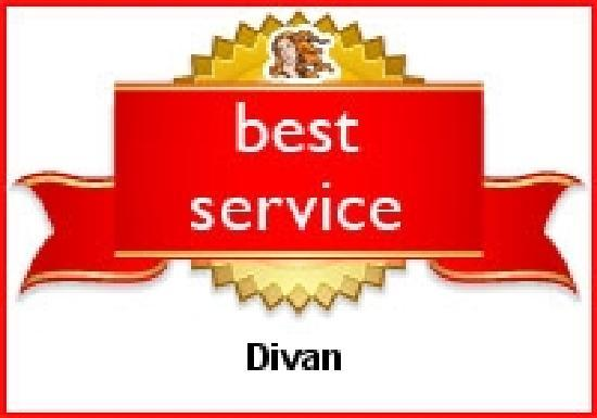 Hotel Divan: Divan has been recognized as a Best Service Hotel by Venere.com travelers from all over the worl