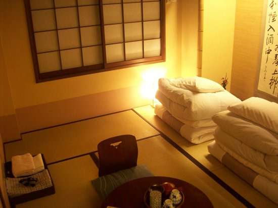 Matsubaya Inn: Inside the room