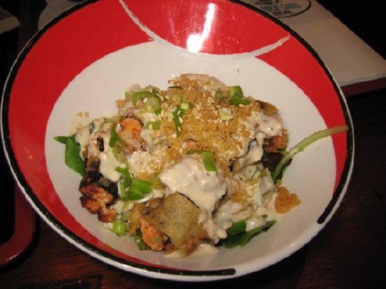 Salt Rock Grill: Spicy Tuna Tempua Salad