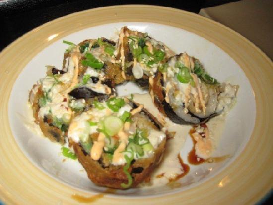 Salt Rock Grill: Tempura Sushi Roll