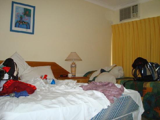 Kondari Resort Hervey Bay: Last room - bed