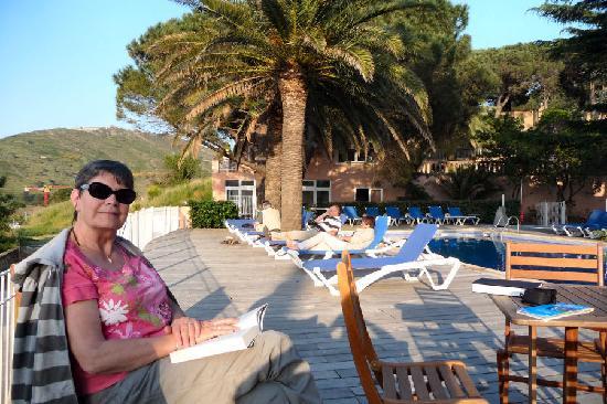 Hotel Les Jardins du Cedre : Relax