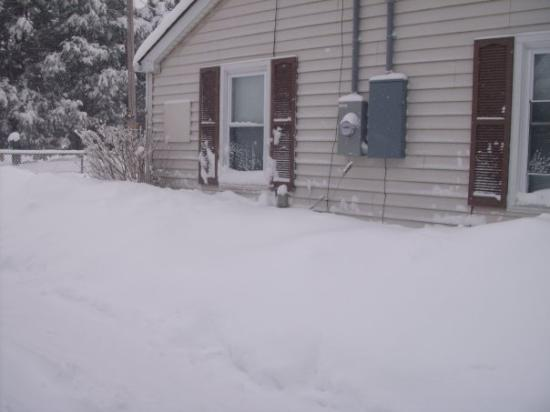 Waynesboro, VA: look at all the snow piled up 2010