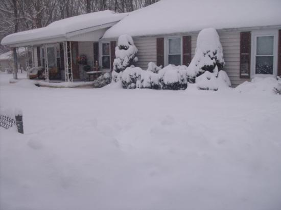 Waynesboro, VA: look at all the snow we got