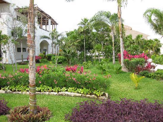 Secrets Maroma Beach Riviera Cancun: Plush Grounds