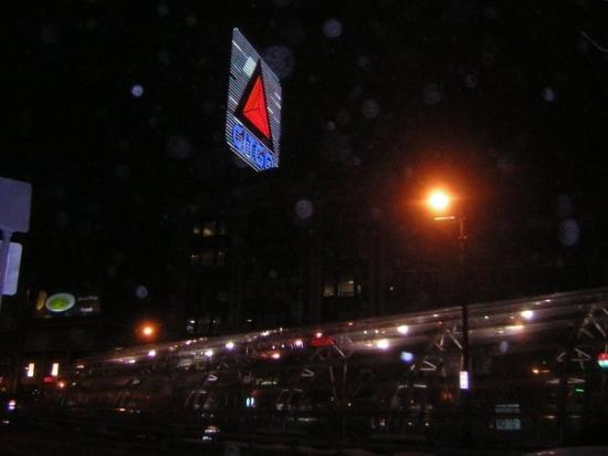 The Famous Citgo sign in Kenmore Square