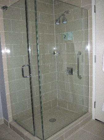 The Westin Mount Laurel: stand up shower