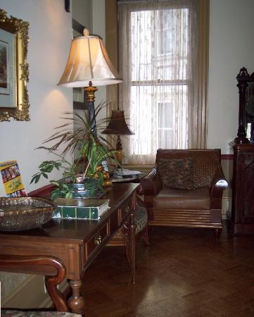 The Lafayette Inn: One corner of salon