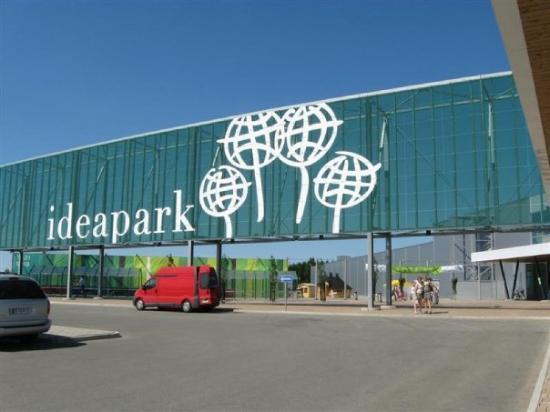 Marimekko: it's not a mall it's a park of ideas! lol