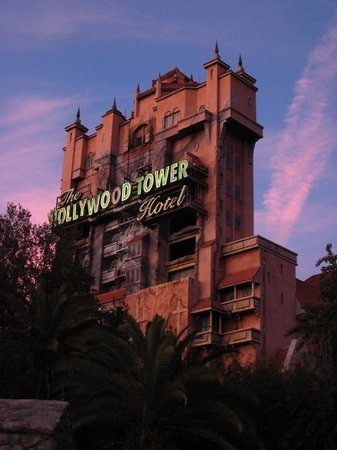Kissimmee, Flórida: My favorite ride at Hollywood Studios - Tower of Terror ROCKS!