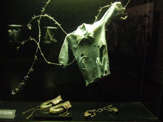 Great Patriotic War Museum : Concentration camp display.
