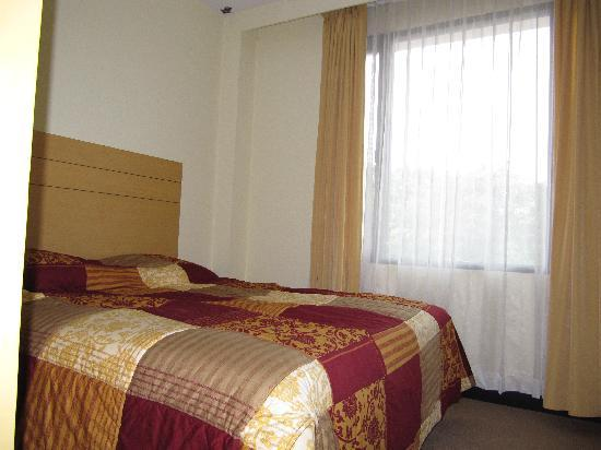 Edotel: Room with double bed