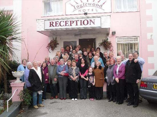 Inglewood Hotel: Group of 44 from the Wirral