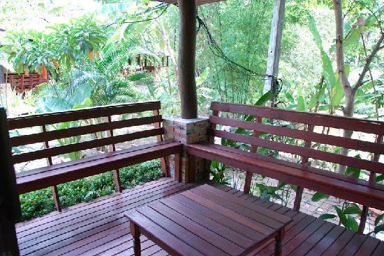 Sunda Resort: Petit balcon