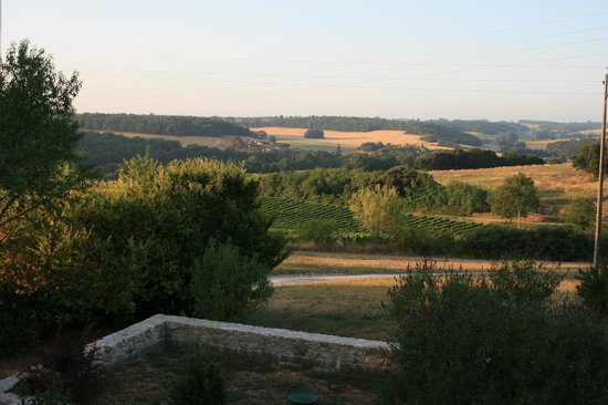 Bezolles, France: view from room