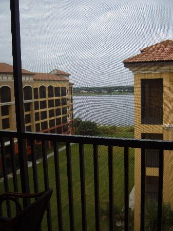 Westgate Lakes Resort & Spa: View from balcony in large apt